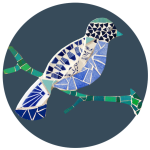 Oiseau:rond marine - copie